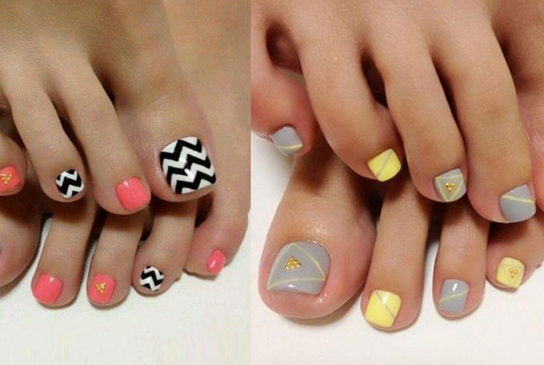 NAIL ART INSPIRATION TO PRETTY UP THOSE TOES THIS WEEKEND ...