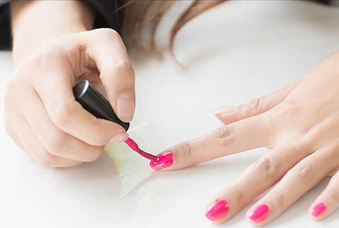 How to quickly dry your nails