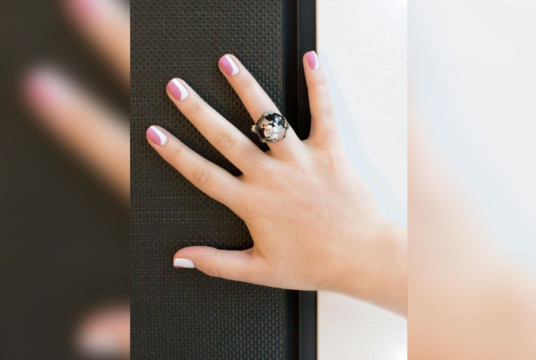Chanel Nail Art How–To: The New French Manicure – Beyoutiful Magazine