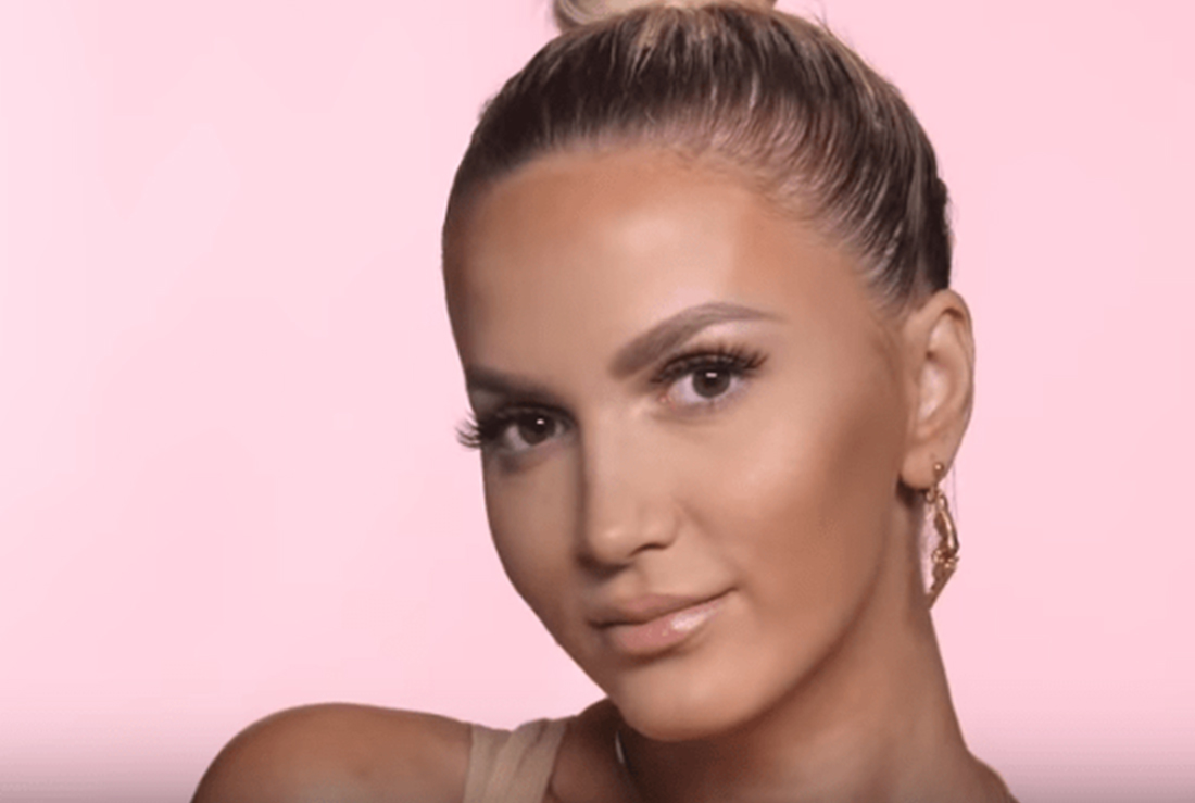 Lori Hoxha publishes the video tutorial of her everyday makeup! – Beyoutiful Magazine