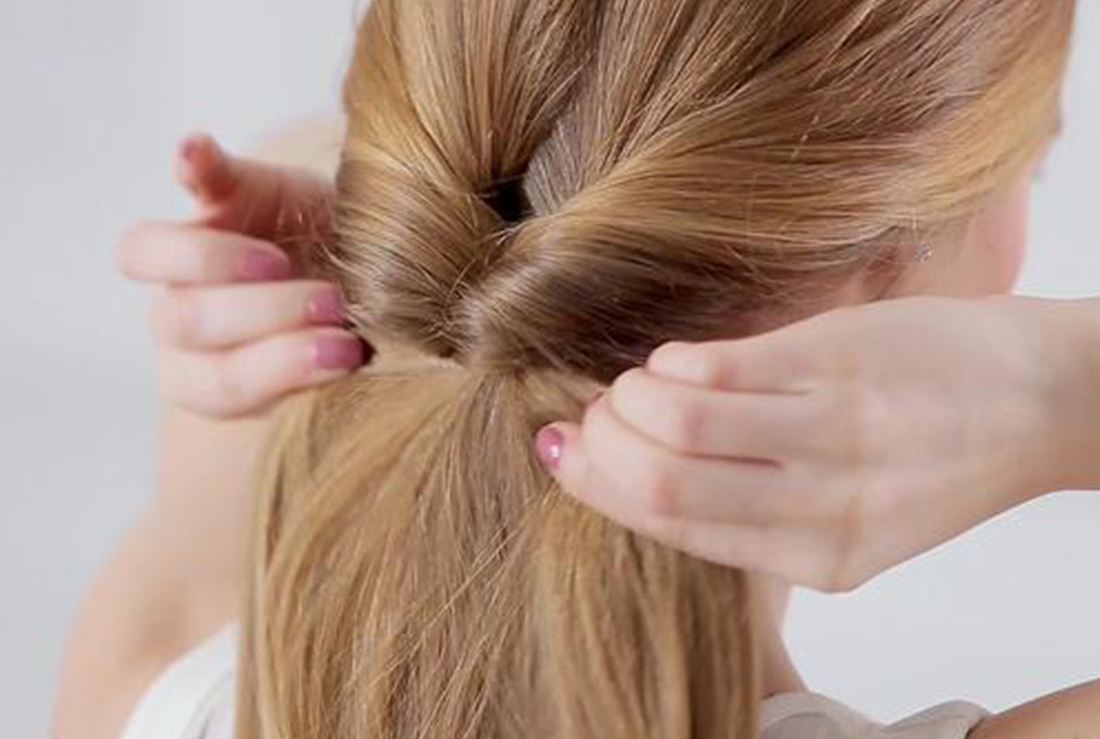 Tips On How To Tie A Loop Ponytail Beyoutiful Magazine